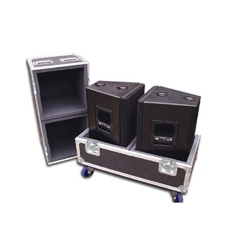 ABS dj flight case,aluminum flight case for audio equipment,lp flight case