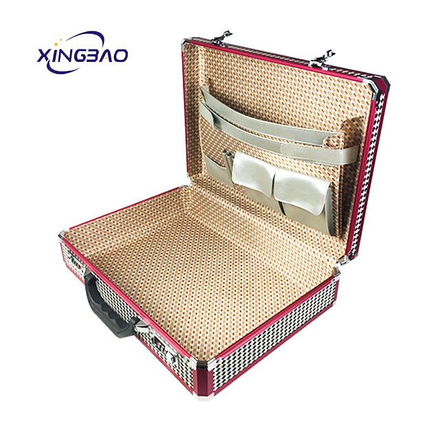 cheap custom Multifunction hard aluminum briefcase tool box
